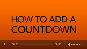 How to add a countdown