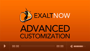 ExaltNow Advanced Customization