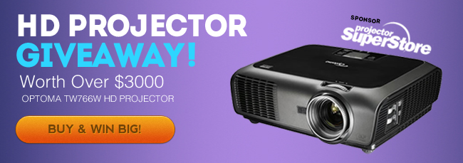 Church Projector Giveaway